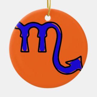 Ornamento De Cerâmica Símbolo da Escorpião