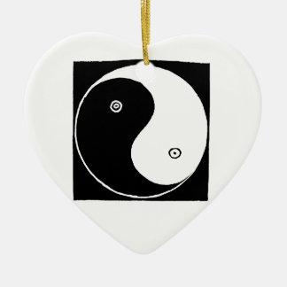 Ornamento De Cerâmica Símbolo de Yin Yang do chinês