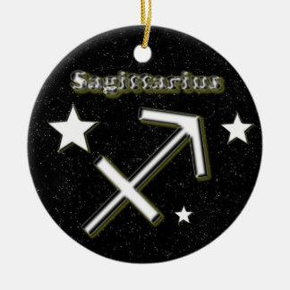 Ornamento De Cerâmica Símbolo do Sagitário