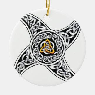 Ornamento De Cerâmica símbolo dos céltico-guerreiros