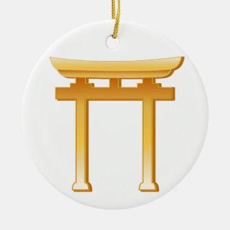 Ornamento De Cerâmica Símbolo xintoísmo