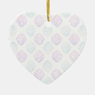 Ornamento De Cerâmica Simples abstrato
