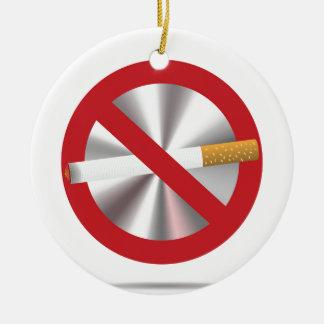 Ornamento De Cerâmica sinal não fumadores