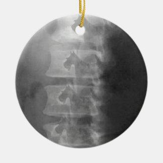 Ornamento De Cerâmica síndrome do cão do scottie