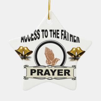 Ornamento De Cerâmica sinos do acesso da oração