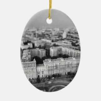 Ornamento De Cerâmica Skyline de B&W Moscovo