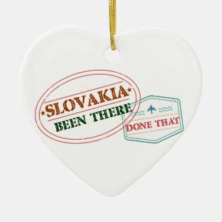 Ornamento De Cerâmica Slovakia feito lá isso