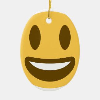 Ornamento De Cerâmica Smiley Emoji Twitter
