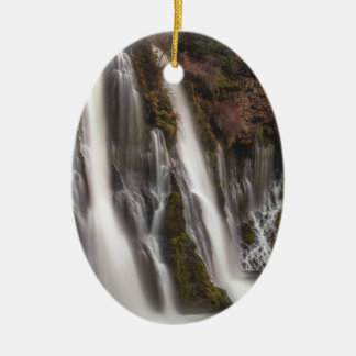 Ornamento De Cerâmica Sobre as quedas de Burney da borda