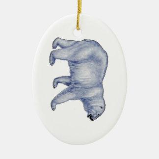 Ornamento De Cerâmica Sobrevivente ártico