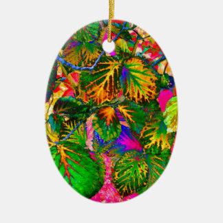 Ornamento De Cerâmica solleafs