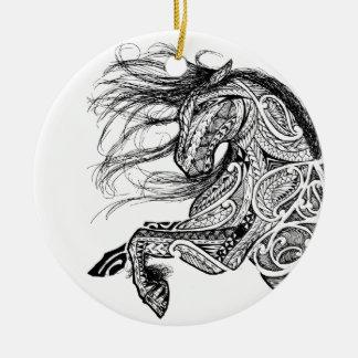 Ornamento De Cerâmica Solofanua