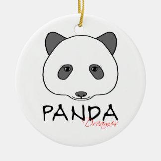 Ornamento De Cerâmica Sonhador da panda