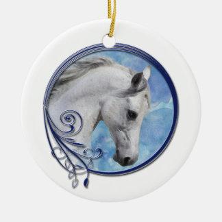 Ornamento De Cerâmica Sonho cinzento