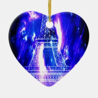 Ornamento De Cerâmica Sonhos Amethyst de Paris da safira