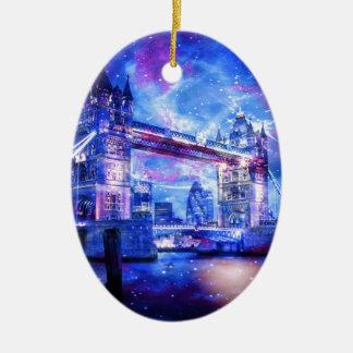 Ornamento De Cerâmica Sonhos da Londres do amante