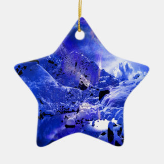 Ornamento De Cerâmica Sonhos da noite de Yule