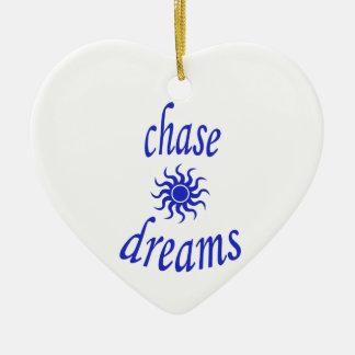 Ornamento De Cerâmica Sonhos da perseguição