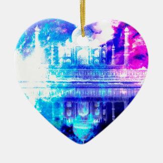 Ornamento De Cerâmica Sonhos de Taj Mahal do céu da criação