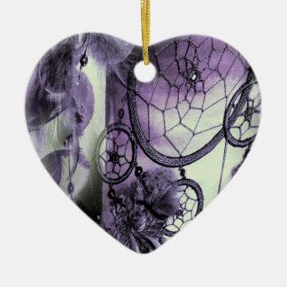 Ornamento De Cerâmica Sonhos emplumados
