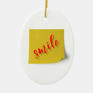 Ornamento De Cerâmica sorriso