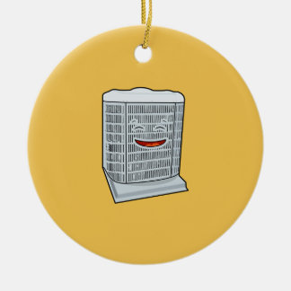 Ornamento De Cerâmica Sorriso feliz da unidade da C.A. do condicionador
