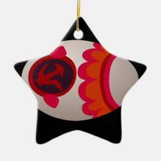 Ornamento De Cerâmica Soviete do ovo da comida do pulso aleatório