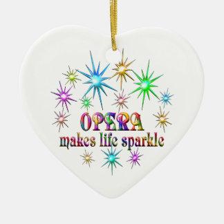 Ornamento De Cerâmica Sparkles da ópera