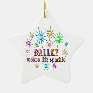 Ornamento De Cerâmica Sparkles do balé