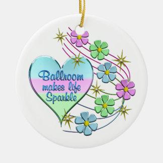 Ornamento De Cerâmica Sparkles do salão de baile