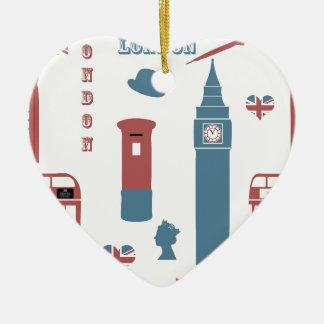 Ornamento De Cerâmica Special de Londres