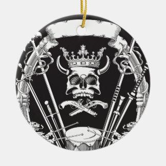 Ornamento De Cerâmica Sr. Crânio