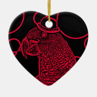 Ornamento De Cerâmica Sr. papagaio