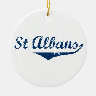 Ornamento De Cerâmica St Albans