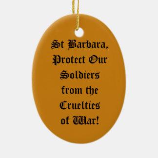 Ornamento De Cerâmica St. Barbara (JP 01)