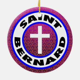 Ornamento De Cerâmica St Bernard