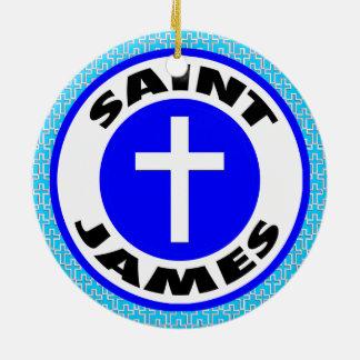 Ornamento De Cerâmica St James