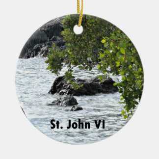 Ornamento De Cerâmica St John VI