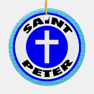 Ornamento De Cerâmica St Peter