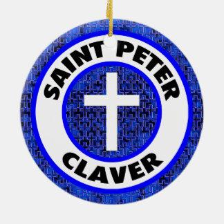 Ornamento De Cerâmica St Peter Claver