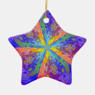 Ornamento De Cerâmica Stardust