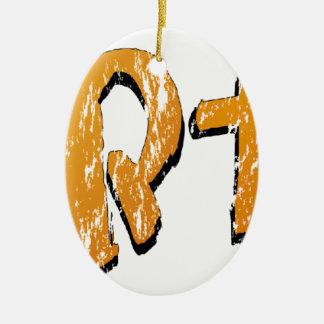 Ornamento De Cerâmica StArt1st (seja o ø para vestir o #YaWNMoWeR)