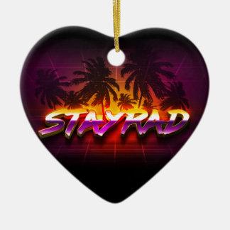 Ornamento De Cerâmica StayRad 80s