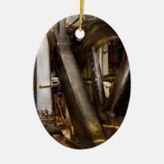Ornamento De Cerâmica Steampunk - rodas do progresso