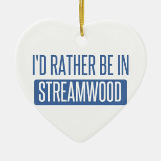 Ornamento De Cerâmica Streamwood
