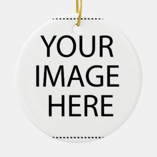 Ornamento De Cerâmica Sua imagem aqui