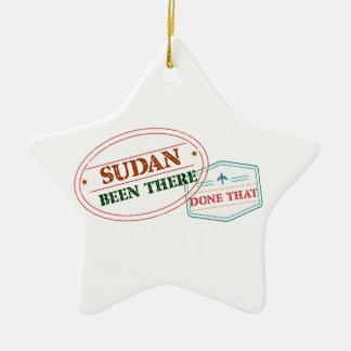 Ornamento De Cerâmica Sudão feito lá isso