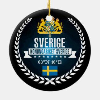 Ornamento De Cerâmica Suecia