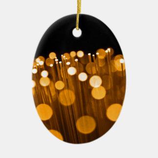 Ornamento De Cerâmica Sumário da fibra óptica