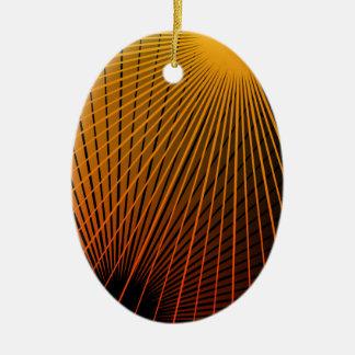 Ornamento De Cerâmica Sumário geométrico